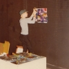 Pat Place installs at Punk Art, 1978