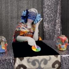 """ChimaTEK: Hybridization Machine,"" Saya Woolfalk, 2013, Digital video"