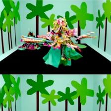 """""""Winter Garden Hybrid Love Objects,"""" Saya Woolfalk, 2005, Digital video"""
