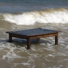 Peter Eudenbach Table Tide, 2002 Video Courtesy of the Artist