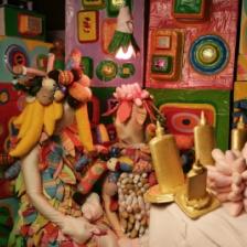 """Ethnography of No Place,""  Saya Woolfalk, 2008, Digital video"